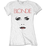Blondie - Staredown Women's Large T-Shirt - White