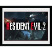 Resident Evil 2 Logo Collector Print