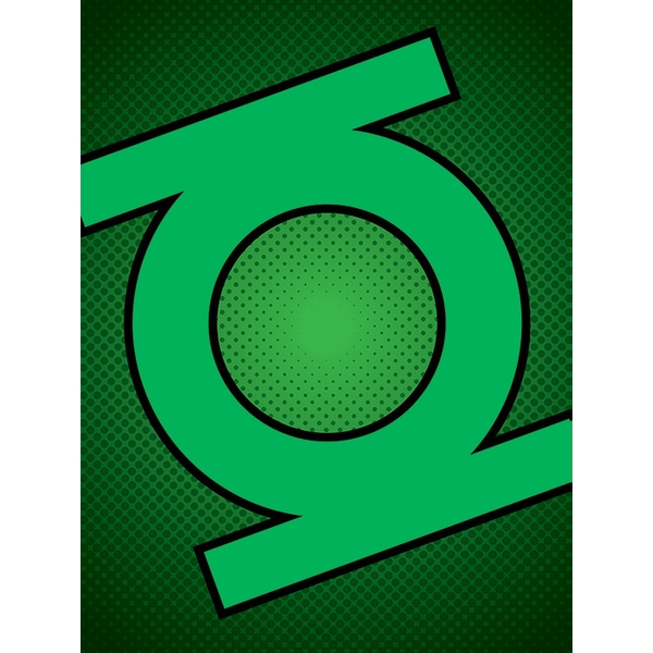 DC Comics - Green Lantern Symbol Canvas