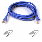 Belkin High Performance Category 6 UTP 1m Patch Cable (Blue)