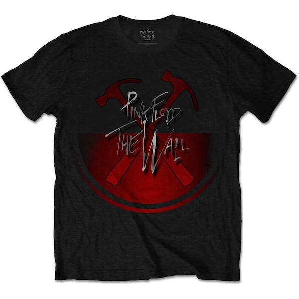 Pink Floyd - The Wall Oversized Hammers Unisex Large T-Shirt - Black
