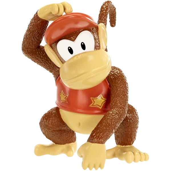"Diddy Kong (Donkey Kong Country) World Of Nintendo 2.5"" Action Figure"