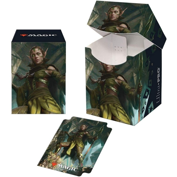 Ultra Pro Magic: The Gathering Zendikar Rising Nissa of Shadowed Boughs 100+ Deckbox