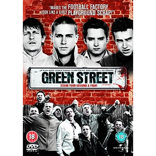 Green Street Region 2 DVD