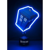 Doctor Who Tardis Small Neon Table Light UK Plug