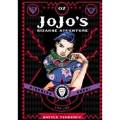 JoJo's Bizarre Adventure: Part 2--Battle Tendency, Vol. 2 by Hirohiko Araki (Hardback, 2016)