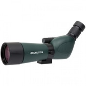 PRAKTICA Highlander Angled Spotting Scope 15-45x60mm FMC BAK4 Green inc Tripod