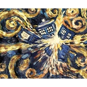 Doctor Who Exploding Tardis Mini Poster