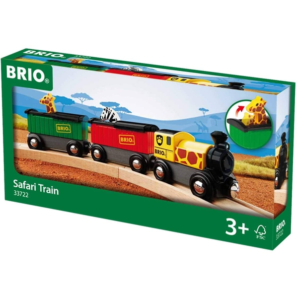 BRIO World - Safari Train Playset