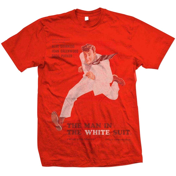 StudioCanal - The Man In The White Suit Unisex Medium T-Shirt - Red