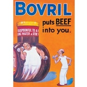 Postcard - Bovril (Puts Beef Into You)