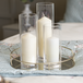 Glass Candle Cylinders - Set of 3 | M&W - Image 4