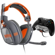 Astro A40 Headset + MixAmp M80 Orange Edition Gaming Headset Xbox One