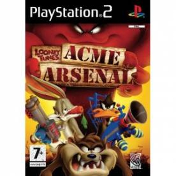 Looney Tunes Acme Arsenal Game PS2