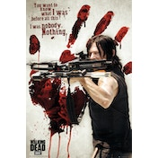 The Walking Dead Daryl Bloody Hand Maxi Poster