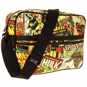 Marvel Comic Strip Messenger Bag