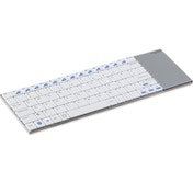 Rapoo E2700 Wireless Keyboard - White UK Layout