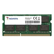 ADATA Premier 4GB, DDR3, 1600MHz (PC3-12800), CL11, SODIMM Memory, Single Rank