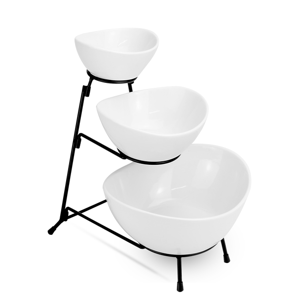 3 Tier Serving Set | M&W Bowls - Image 1