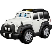 BB Junior Jeep Touch & Go Toy Car