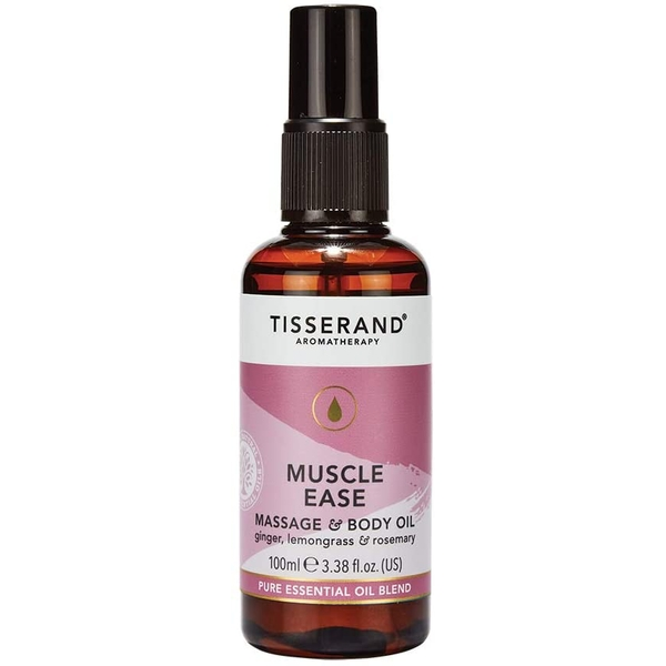Tisserand Aromatherapy Muscle Ease Massage and Body Oil 100ml