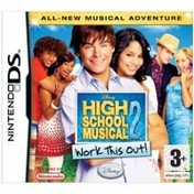 Disney High School Musical 2 Work This Out! Game DS