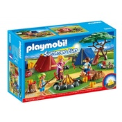 Ex-Display Playmobil Summer Fun Camp Site with LED Fire Used - Like New