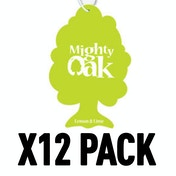 Lemon & Lime (Pack Of 12) Mighty Oak Air Freshener