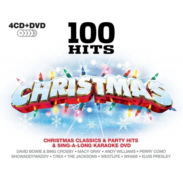 100 Hits - Christmas (4CD)   [DVD]
