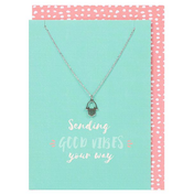 Sending Good Vibes Necklace and Card