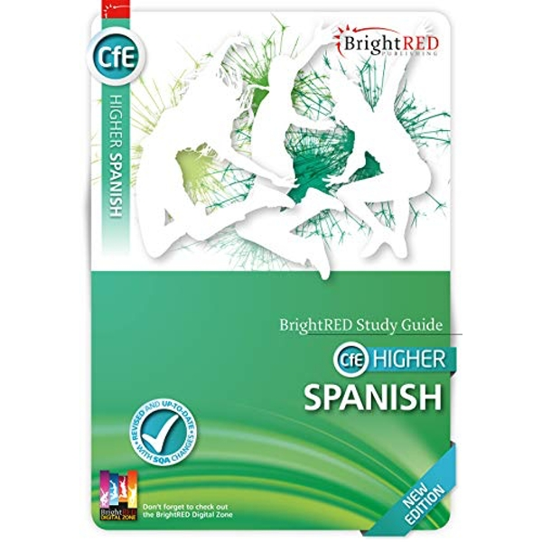 BrightRED Study Guide Higher Spanish - New Edition  Paperback / softback 2018