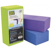 Yoga-Mad Hi-density Yoga Brick 220mm x 110mm x 70mm Blue