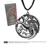 Game of Thrones Targaryen Sigil Costume Pendant
