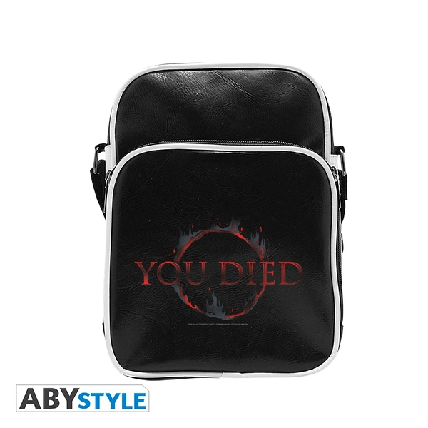 Dark Souls - You Died Vinyl Messenger Bag