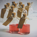 Set of 12 Mini 50ml Glass Bottles | Includes Decorative labels | M&W - Image 8