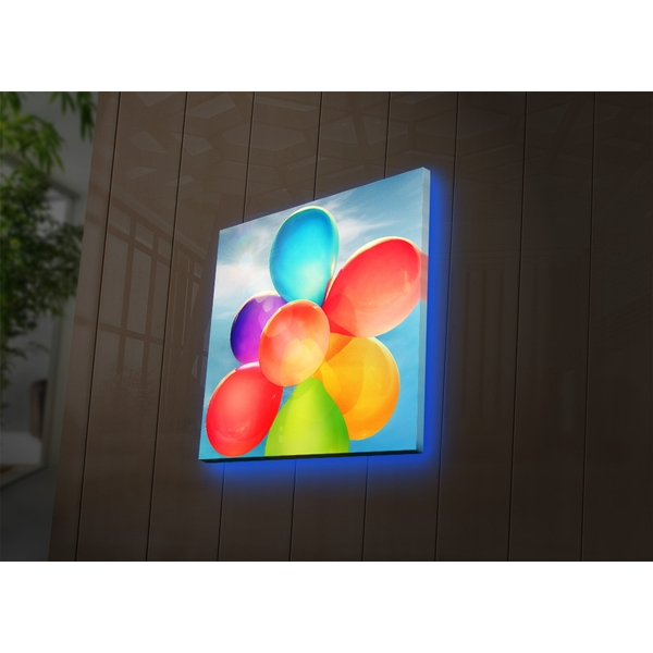 2828DACT-35 Multicolor Decorative Led Lighted Canvas Painting