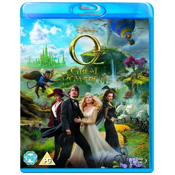 Oz the Great and Powerful Blu-ray