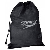 Speedo Equipment Mesh Wet Kit Bag Black