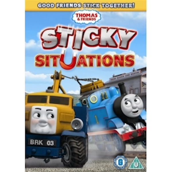 Thomas & Friends Sticky Situations DVD