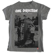One Direction Take Me Home Album Skinny Grey TS: Small