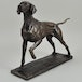Pointer  by David Geenty Cold Cast Bronze Sculpture 26cm - Image 2