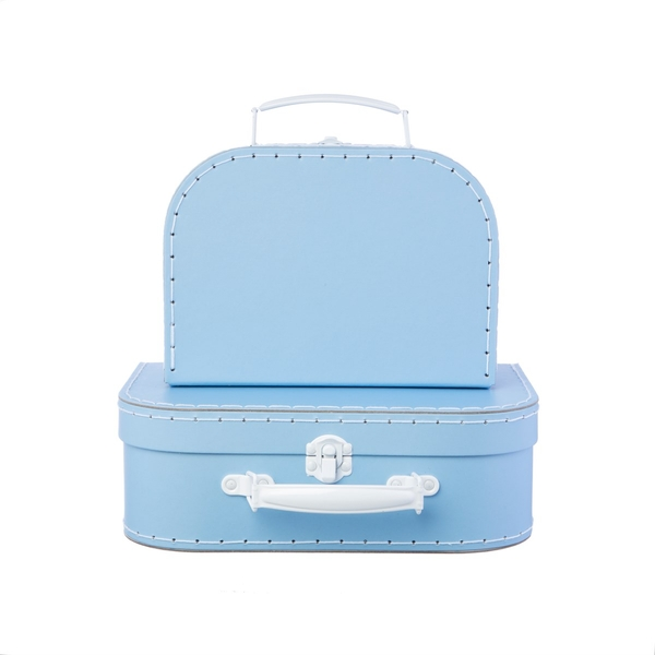 Sass & Belle Pastel Blue Suitcases (Set of 2)