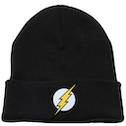 The Flash - Logo Beanie - Black (One size)