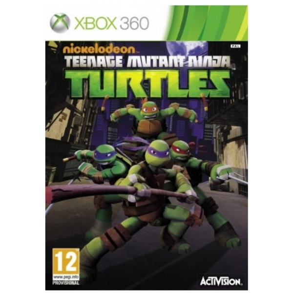 Teenage Mutant Ninja Turtles Game Xbox 360