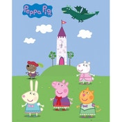 Peppa Pig Fairytale Mini Poster
