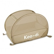 Koo-di 100 x 60 x 58 cm Pop Up Travel Bubble Cot Cafe Crème