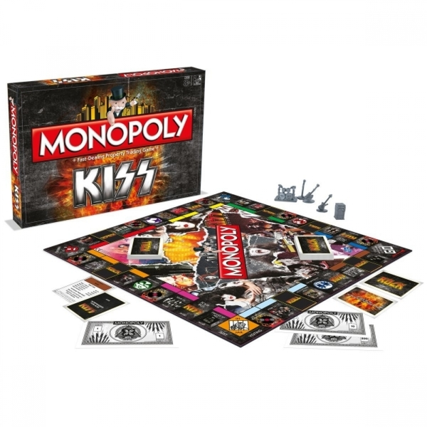 Ex-Display KISS Monopoly Used - Like New - Image 2