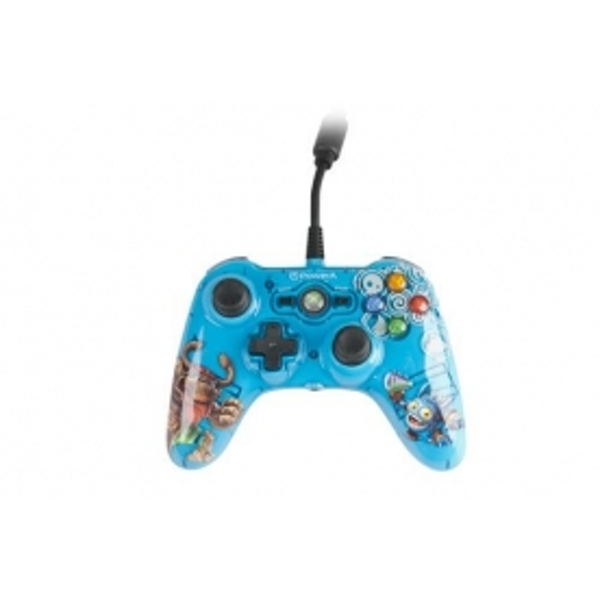 Skylanders Giants Mini Pro EX Wired Blue Controller Xbox 360 - Image 2