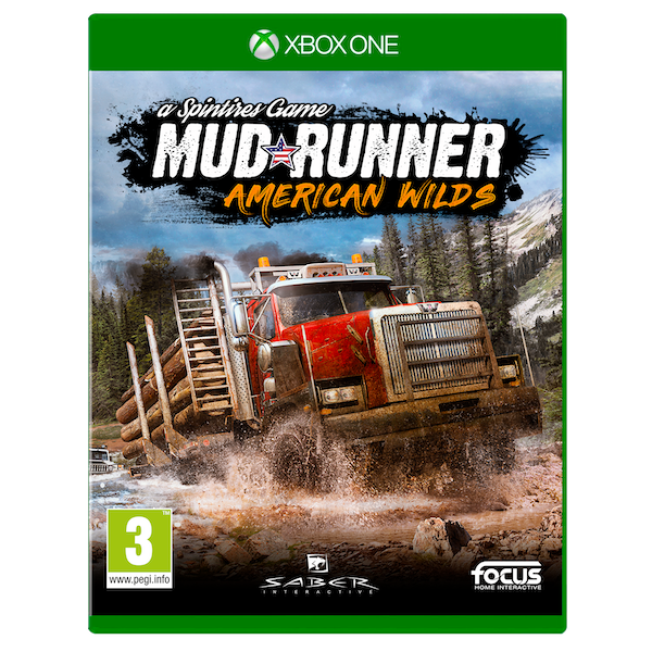 spintires mudrunner american wilds edition xbox one game. Black Bedroom Furniture Sets. Home Design Ideas