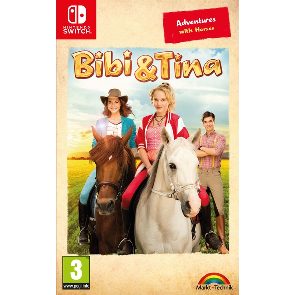 Bibi & Tina Adventures with Horses Nintendo Switch Game